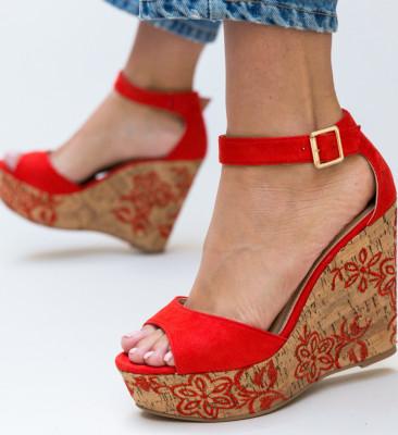 Sandale Lozano Rosii