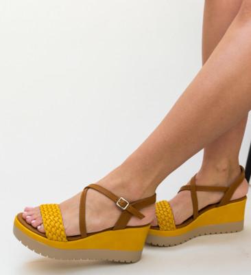 Sandale Visen Galbene
