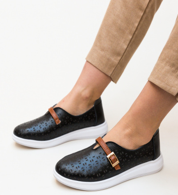 Pantofi Casual Vicez Negri