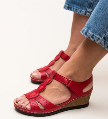 Sandale Deacon Rosii