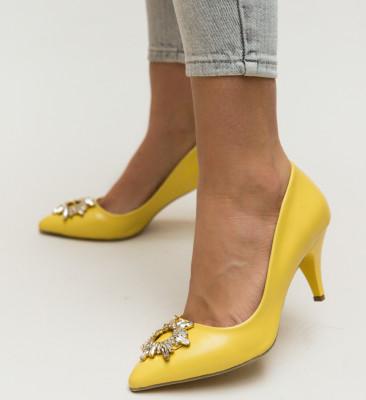 Pantofi Tanya Galbeni