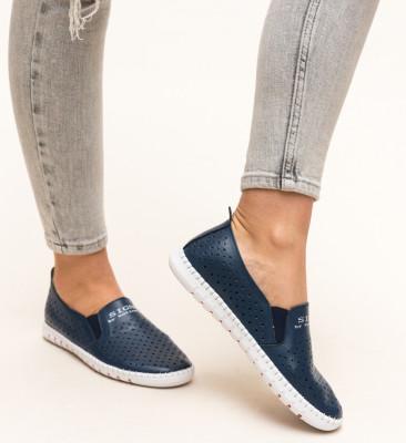 Pantofi Casual Mauritio Bleumarin