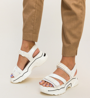 Sandale Elemenix Albe