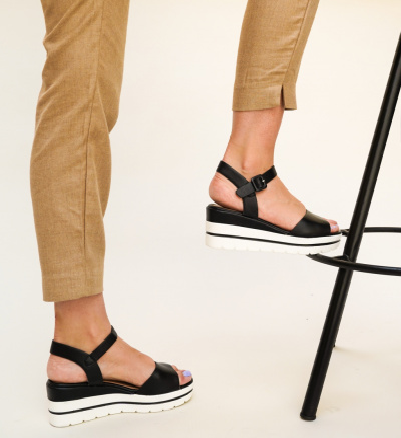 Sandale Nedu Negre