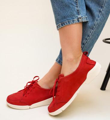 Pantofi Casual Viena Rosii
