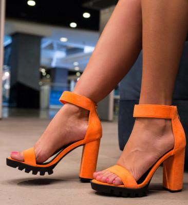 Sandale Neda Portocalii