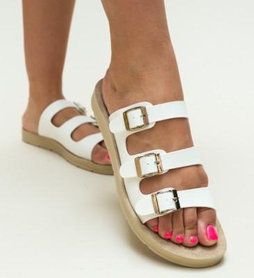 Papuci Balance Albi