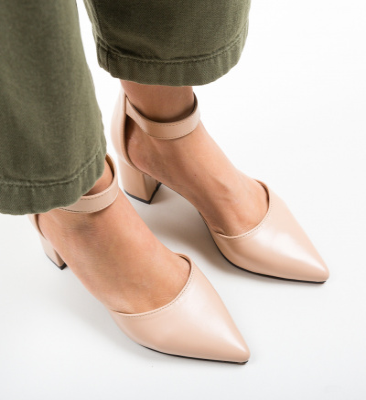 Pantofi Anabero Bej
