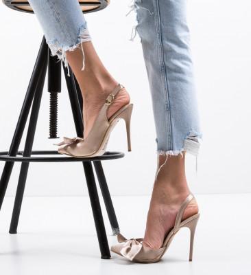 Pantofi Andras Nude