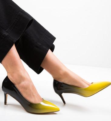 Pantofi Bohe Galbeni