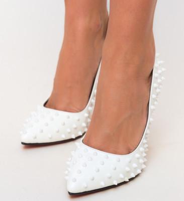 Pantofi Bonibon Albi