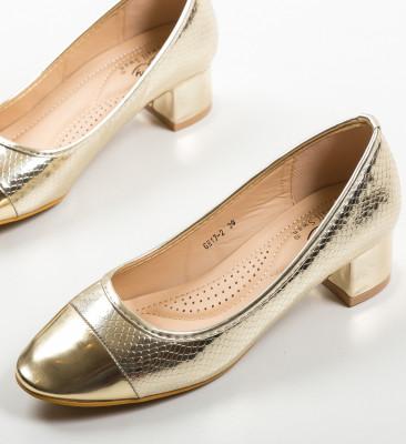Pantofi Camro Aurii