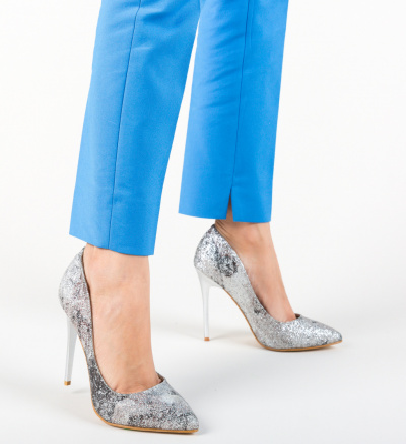 Pantofi Cartuko Argintii