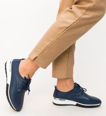 Pantofi Casual Albert Bleumarin