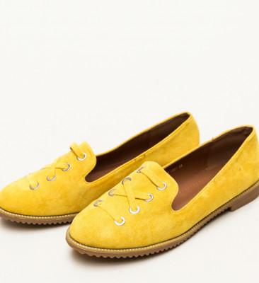 Pantofi Casual Arial Galbeni