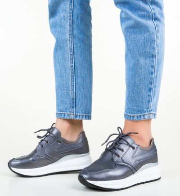 Pantofi Casual Arnol Gri