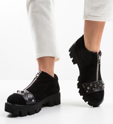 Pantofi Casual Barne Negri