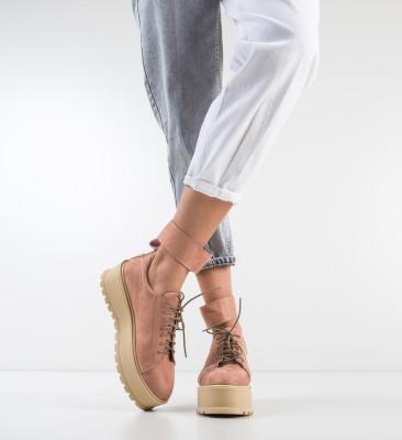 Pantofi Casual Brosky Roz