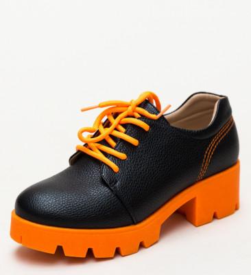 Pantofi Casual Ceho Portocali