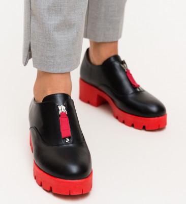 Pantofi Casual Corola Rosii