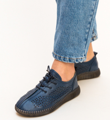 Pantofi Casual Crawler Bleumarin