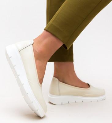 Pantofi Casual Dole Bej 2
