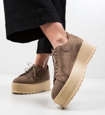 Pantofi Casual Dutano Khaki