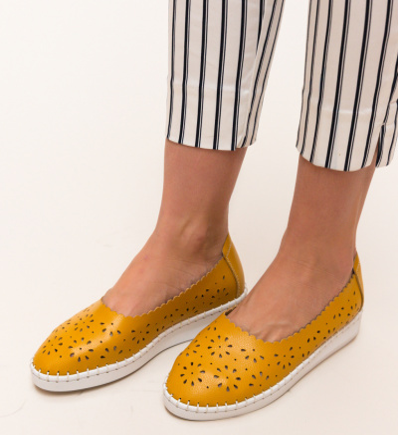 Pantofi Casual Egipt Galbeni