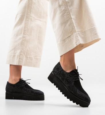 Pantofi Casual Egypt Negri 3
