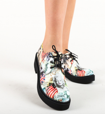 Pantofi Casual Flag Multi