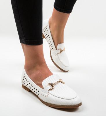 Pantofi Casual Gaia Albi