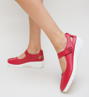 Pantofi Casual Hiso Rosii