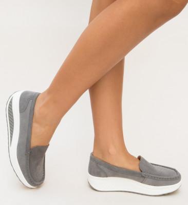 Pantofi Casual Isla Gri