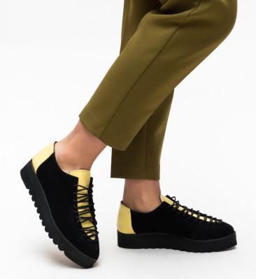 Pantofi Casual Jenny Galbeni