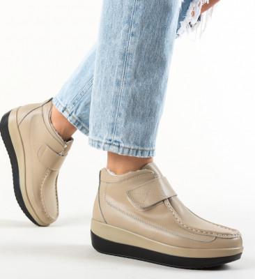 Pantofi Casual Jistry Bej