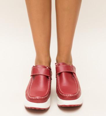 Pantofi Casual Juko Rosii