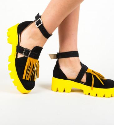 Pantofi Casual Kajah Galbeni