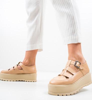 Pantofi Casual Karagam Bej