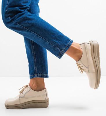 Pantofi Casual Lionata Bej