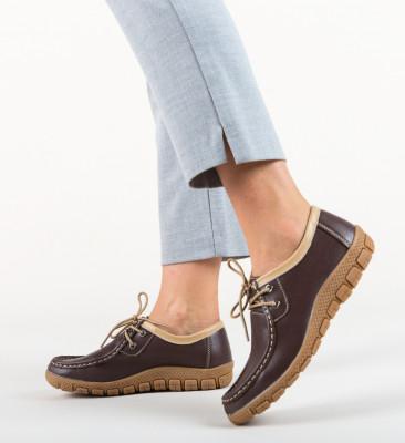 Pantofi Casual Macias Maro