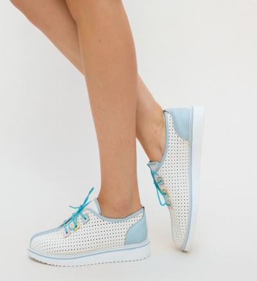 Pantofi Casual Meso Albastri