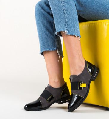 Pantofi Casual Moody Negri