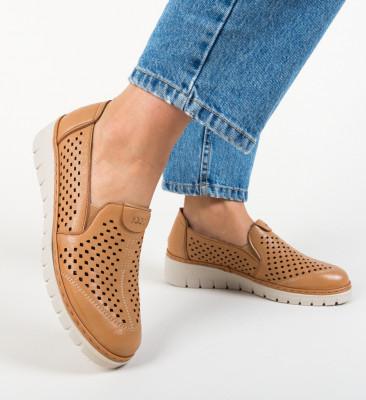 Pantofi Casual Nevaya Camel
