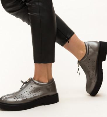 Pantofi Casual Nikolo Gri