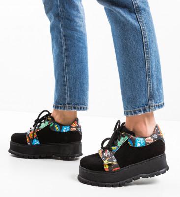 Pantofi Casual Niminigan Negri 3