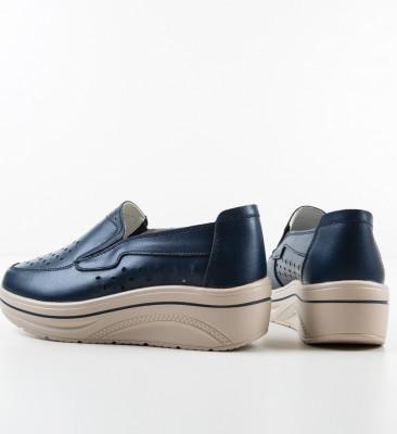 Pantofi Casual Olifram Bleumarin
