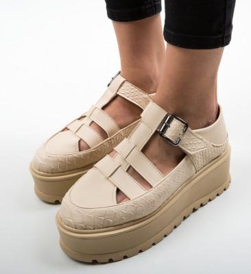 Pantofi Casual Ramada Bej 2