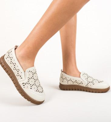 Pantofi Casual Resca Bej