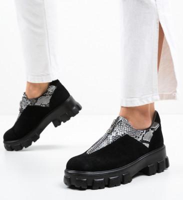 Pantofi Casual Skioha Negri