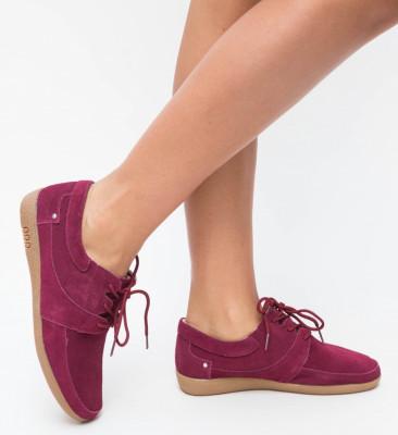 Pantofi Casual Solio Grena